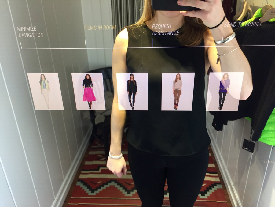 Interactive Mirrors The Future Of Retail Outform