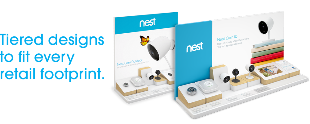 Nest Product Portfolio Display
